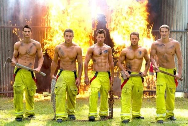 画像 : ...凄い。爽やかイケメン肉体美!フランスの「消防士 ...